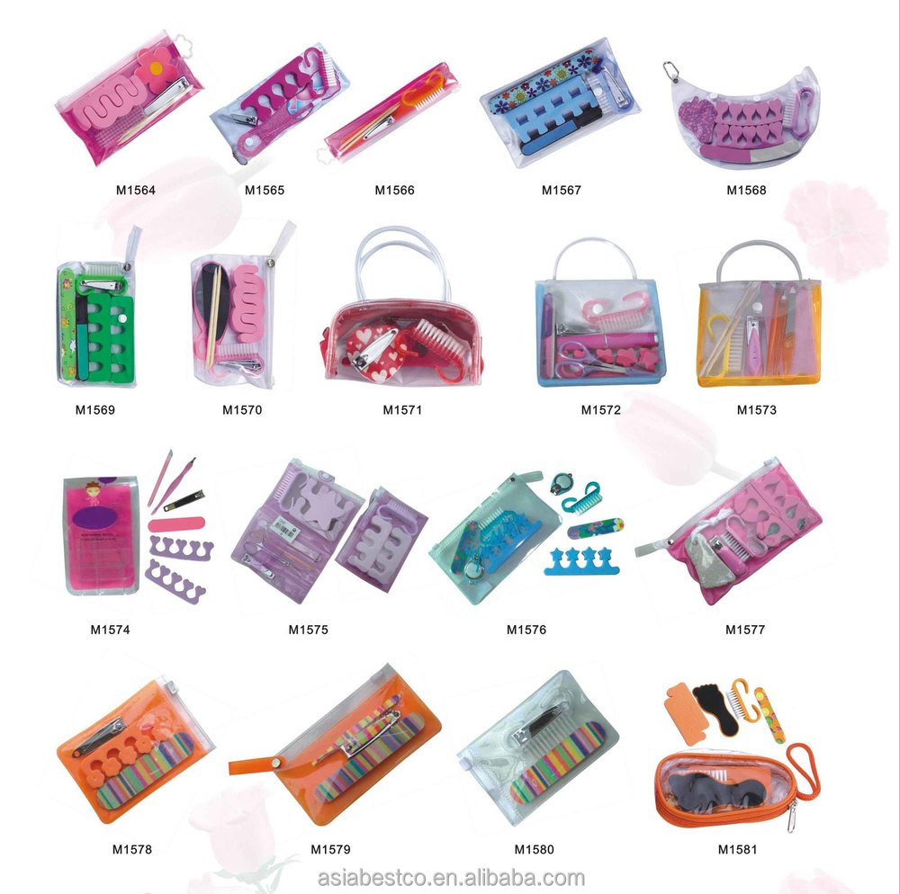 Girls Nail Tools Manicure Set