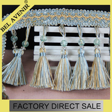 cheap craft tassel decorative drapery trim