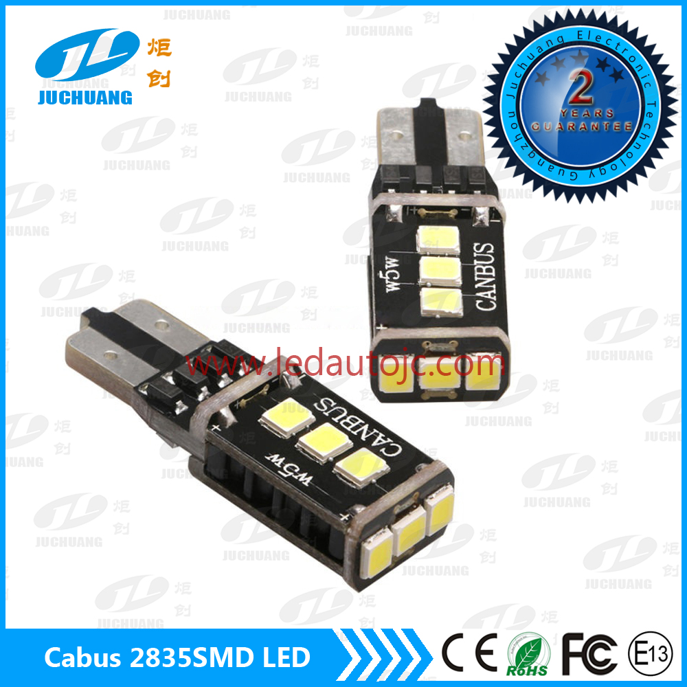 2 year warranty 2835SMD Tough Version T10 12V LED Interior Lighting 9 SMD canbus led Auto Car Parts LED Light Bulb