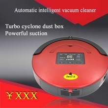 Auto Rechargeable Cordless robot vacuum cleaner with mop function UV germicidal