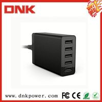 40w 5 port usb charger multi port wall charger