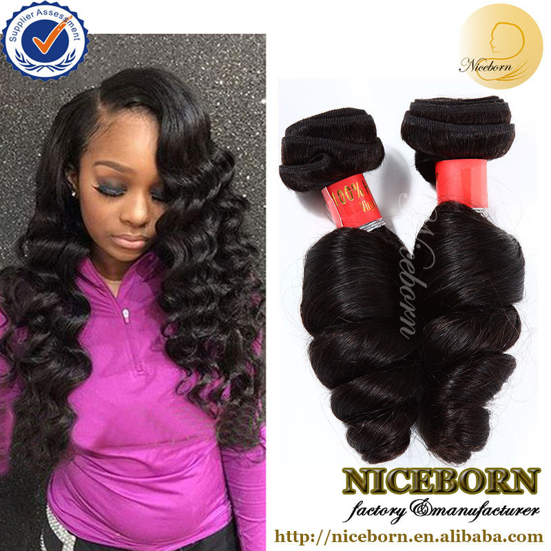 "New premium hair products Brazilian natural loose wave 10""-30"" in large stock"