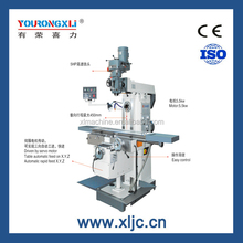 XL6336W Universal Vertical horizontal radial milling machine with rotary table
