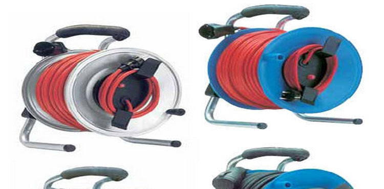 Geared Reel For Electric Fence