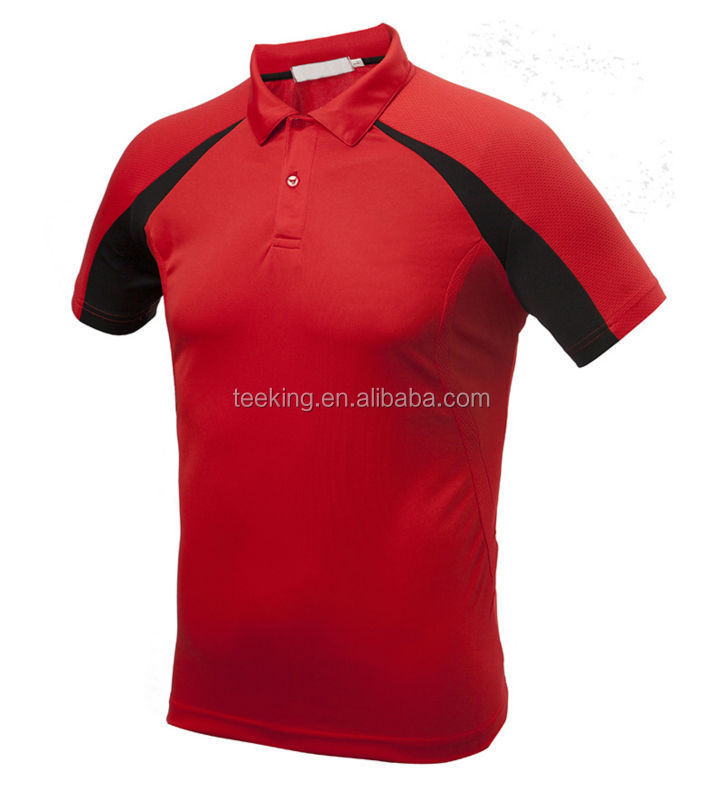 Custom 100 polyester dry fit mens wholesale golf polo for Bulk golf shirts wholesale