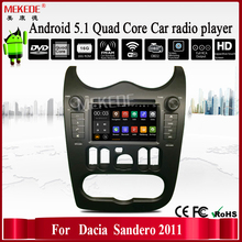 MEKEDE wholesale Android7.1 car radio cassette for RENAULT Dacia/Duster/Logan/Sandero support dvd gps radio 4G wifi
