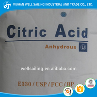 wholesale high quality food grade citric acid anhydrous