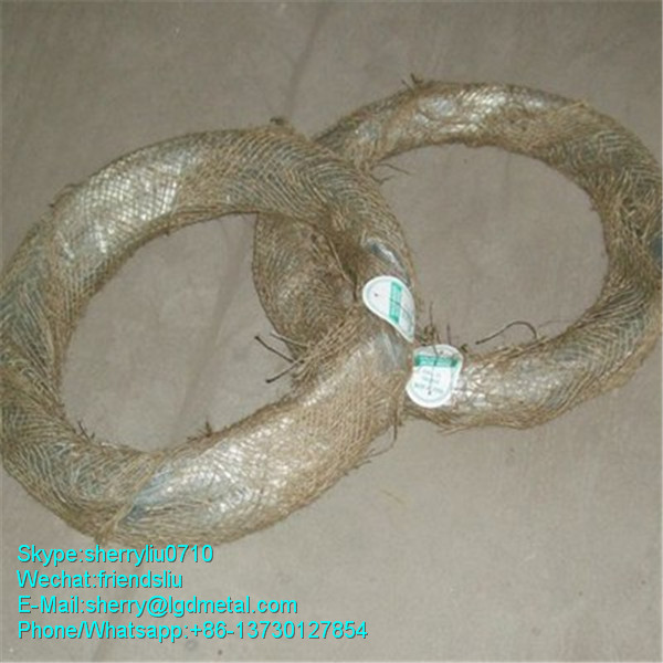 galvanized ms wire soft(annealed) in bundle form------GWSL653