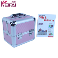 Aluminum Frame Small Size Fashion ABS Beauty Case Cosmetics