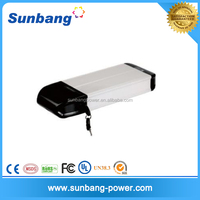 External rechargeable lithium ion 36v/10ah lifepo4 battery pack