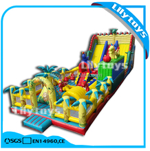 Giant amusement children playground inflatable slide for sale