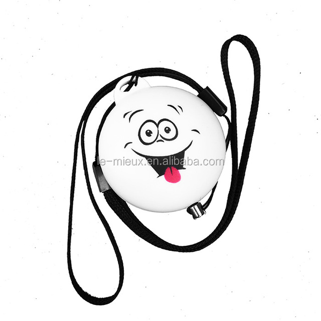 Funny Face UFO Shape Customize Logo 120db High Sound Panic Siren Personal Alarm