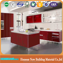 Honsoar High end quality BLUM auto tendam box kitchen cabinet set