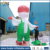 4m High Green Advertising Inflatable Pigeon for event made in China