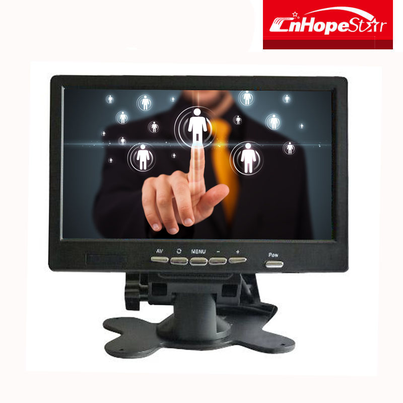 Plastic low cost 7 inch touch screen monitor made in China