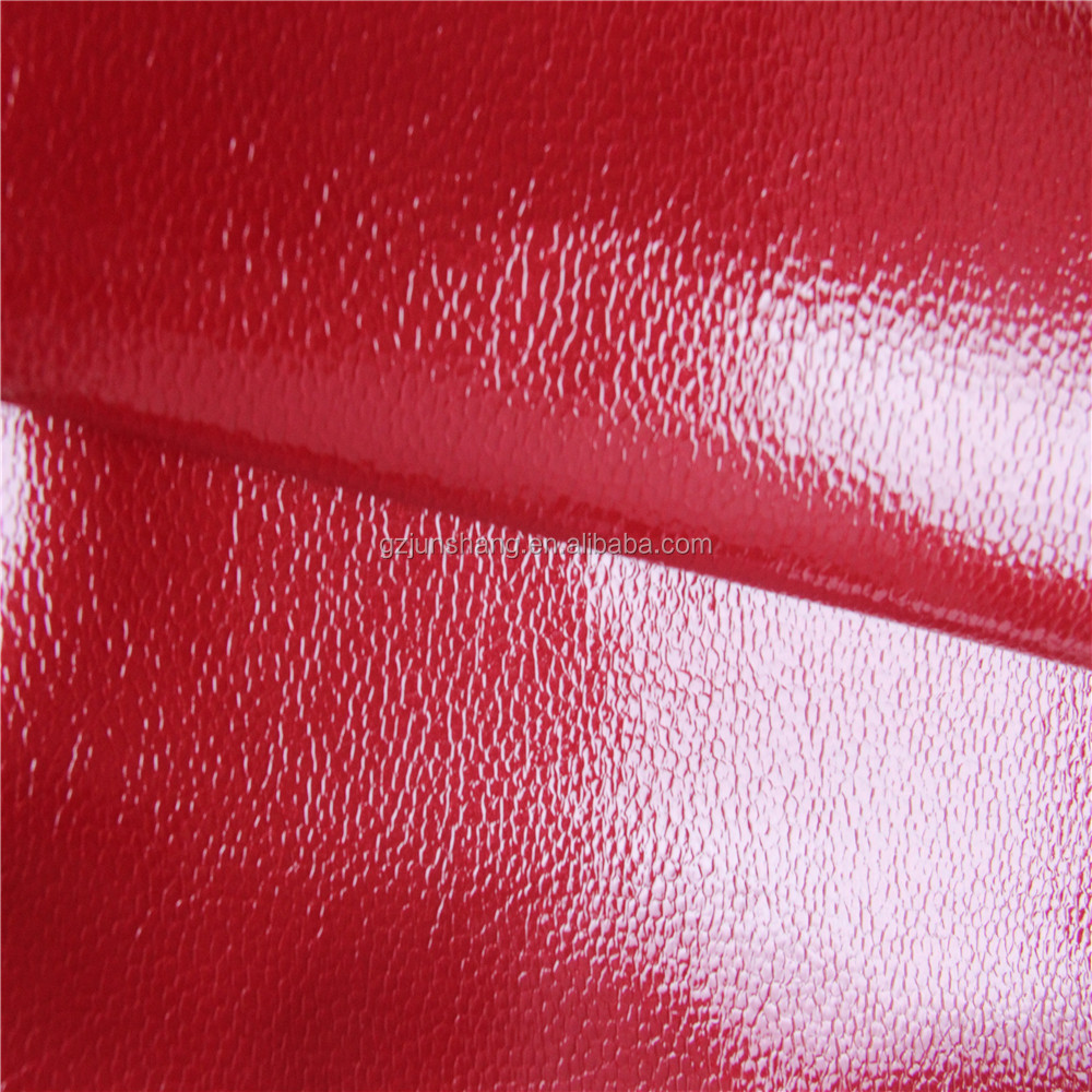 shining suface vinyl quality for handbag and shoe usage