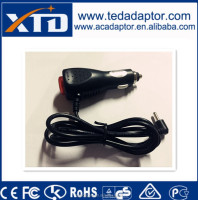 CE approved car charger 12V 2A 2.5A 5V 850mA 9V 1.5A 2.5A 7.5V 1A for GPS in-car DVD PURIFIER