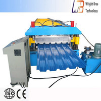industry steel portable metal roofing roll forming machine