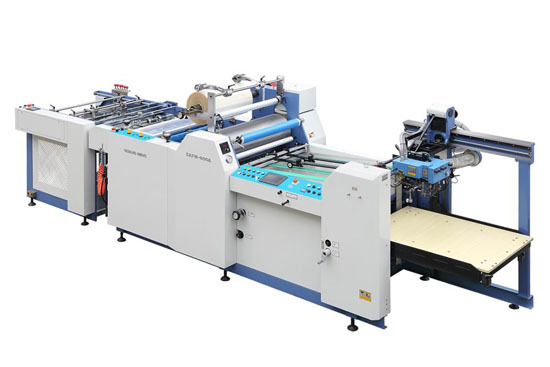 SAFM-800A/1100A Automatic Thermal film laminating machine price