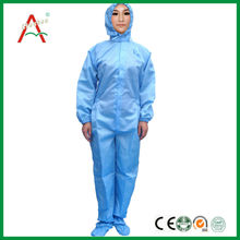 ESD autoclavable Lab cleanroom coverall