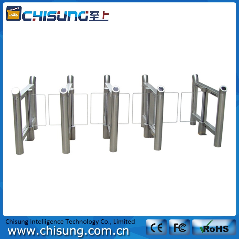 high class high quality heavy duty access control board swing gate