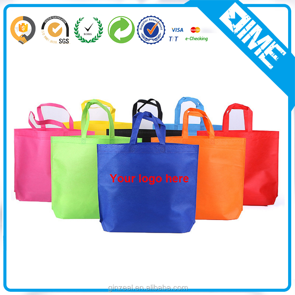China Professional Factory Custom Printing OEM PP Non Woven Bag