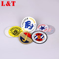 Fast Delivery Sew On Garment Embroidery Customized Teams Logo Woven Patch Printed Patch