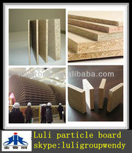 1220*2440mm raw chipboard for indoor usage
