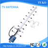 Broadband Yagi tv antenna high gain yagi antenna power outdoor hdtv antenna outdoor