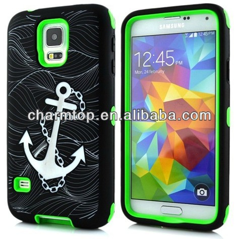 Boat Anchor Design 3 in 1 Hybrid Case For Sony Xperia Z1 Compact