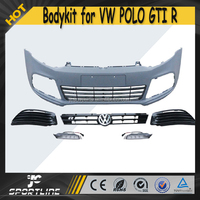 11-15 R Style PP Auto Front Bumper Body kit for VW POLO R GTI