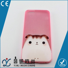 factory cell phone accessories cute funny TPU cover case customized back cell phone cases cover For iPhone 6 plus