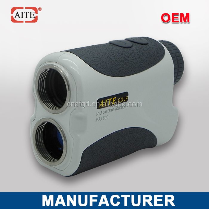 2014 New Style 6*24 600m Laser rangefinder with pinseeking and angle measure function electric golf trike (sx-e0906-3a)