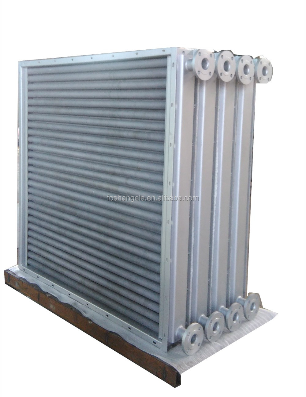 Air Water Tubular Heat Exchanger For Hardwood Drying Chamber/Kiln Dryer