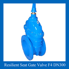 Resilient Seated Non Rising Stem 12 inch Gate valve PN10