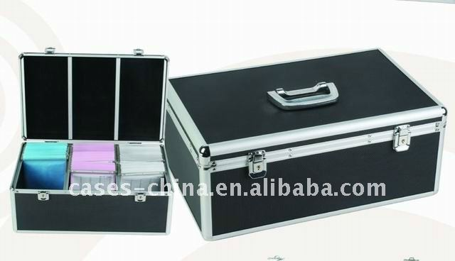 Aluminum case for 420pcs CD