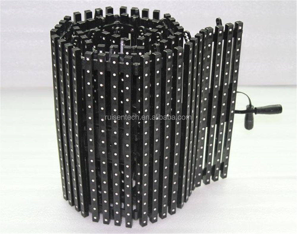 ADJ Enable IP61 Indoor SMD3528 P6 Flexible LED Curtain Video Wall Foldable LED Display for Stage Even Concert etc