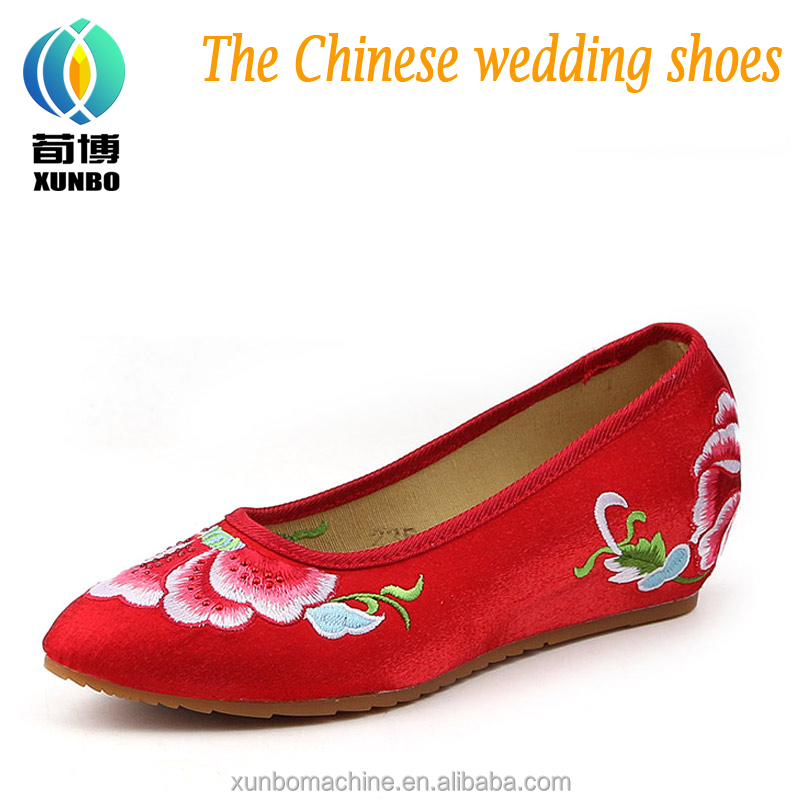 The most creative embroidered sneakers chinese footwear