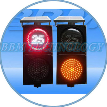 200mm solar powered traffic sign for limiting speed