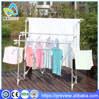 Unique designed aluminium folding clothes drying rack