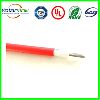TUV PV1-F 600/1000V copper conductor XLPE insulation XLPE sheath solar Cable sunlight resistance