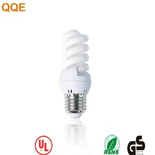 China factory cfl supply T2 5W Full Spiral energy saving light bulb
