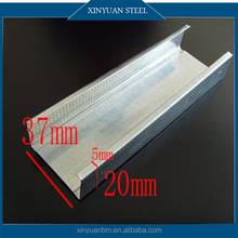 Galvanized Steel C Channel/ Metal Studs Sizes for Gypsum Drywall
