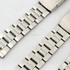 3 beads stainless steel replacement watch band in 20mm 22mm 24mm