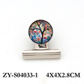 hot selling heavy duty lifetree design round metal glass memo clip