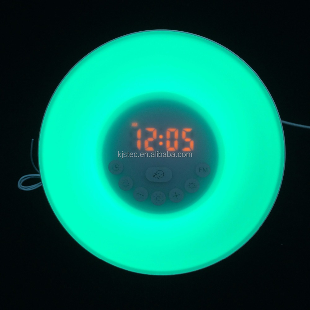fancy digital touch light alarm clock globe alarm clock