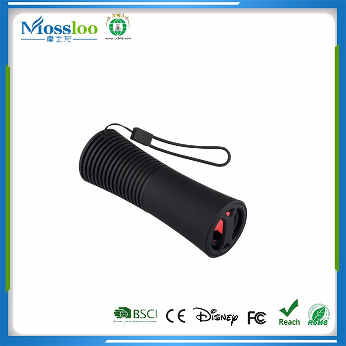 innovative products 2017 power bank bluetooth speaker with flashing light