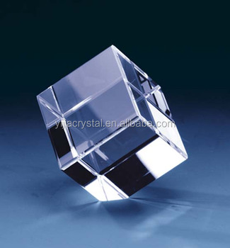 K9 AAA high quality cheap latest blank crystal cube, crystal crafts