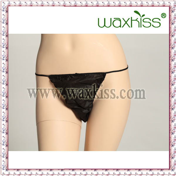 Beauty Care Product Eco-Friendly PP Nonwoven Woman underwear/ Disposable G-String