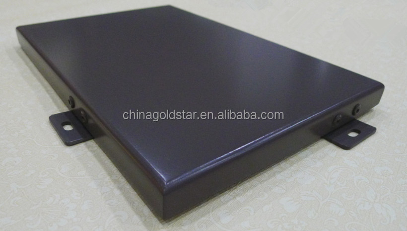 aluminum solid panel for wall cladding facade